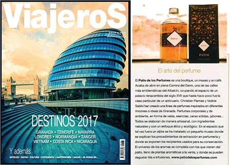 Article published in ViajeroS nº183, Winter 2017