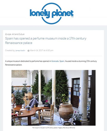 Article online published by lonelyplanet.com, JAMES MARTIN, 14th March 2017
